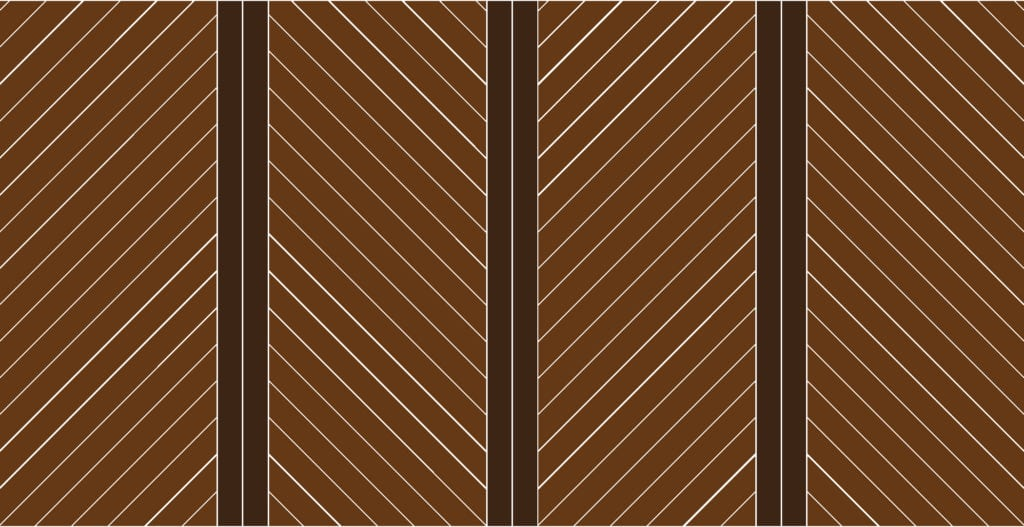 patterned wood