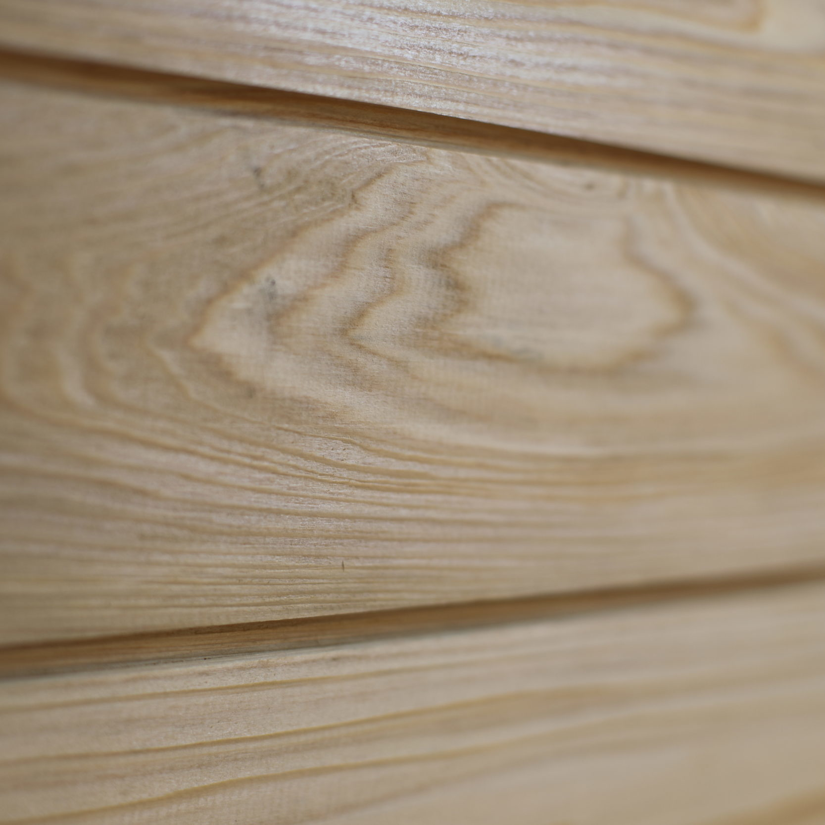 Cypress Siding Close-Up